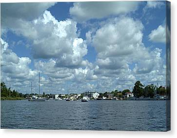 Georgetown Harbor Canvas Print