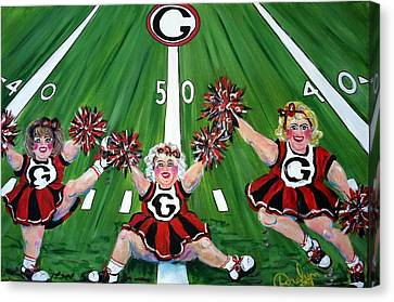 Georgia Homecoming Canvas Print