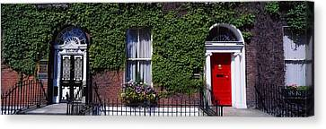 Georgian Doors, Fitzwilliam Square Canvas Print by The Irish Image Collection