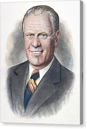 Gerald Ford (1913-2006) Canvas Print by Granger