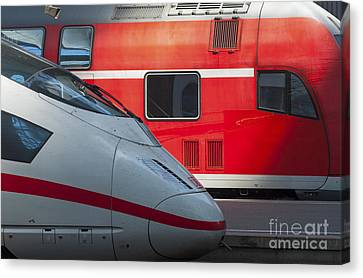 German Trains Canvas Print by Andrew  Michael