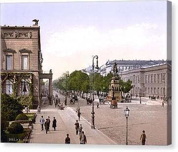 Germany, Unter Den Linden, Berlin Canvas Print by Everett