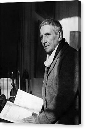 Gertrude Stein 1874-1946, American Canvas Print
