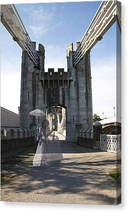 Ghost Bridge Canvas Print
