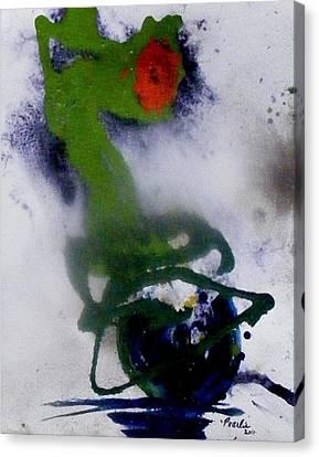 Ghost Flower Canvas Print
