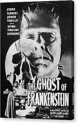 Ghost Of Frankenstein Canvas Print by Granger