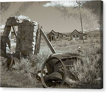 Ghost Town Series 3 Canvas Print by Philip Tolok