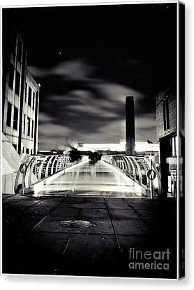 Ghosts In The City Canvas Print