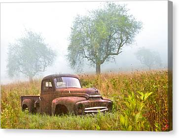Ghosts Of The Past Canvas Print by Debra and Dave Vanderlaan