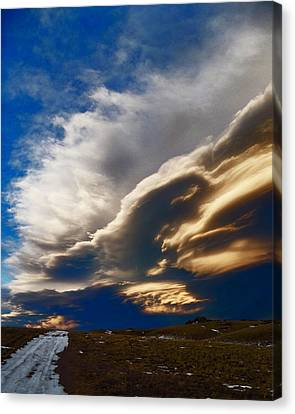 Ghosts On The Wind Canvas Print by Wesley Hahn