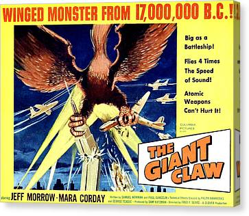 Giant Claw, The, 1957 Canvas Print by Everett