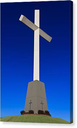 Giant Cross Canvas Print by Doug Long