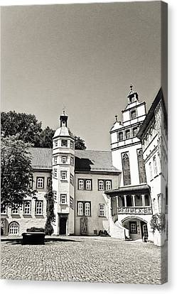 Gifhorn Castle Canvas Print by Benjamin Matthijs
