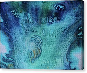 Canvas Print featuring the painting Gift From The Sea by Mary Sullivan