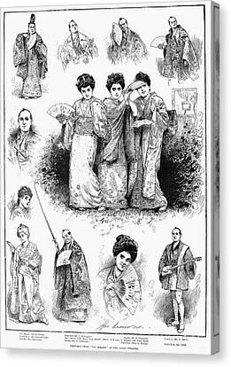 Gilbert & Sullivan: Mikado Canvas Print by Granger