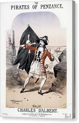 Gilbert & Sullivan, 1880 Canvas Print by Granger