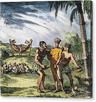 Gilding Of El Dorado Canvas Print