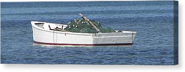Canvas Print - Gill Netter by Kevin Brant