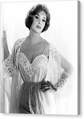 Gina Lollobrigida, 1961 Canvas Print by Everett