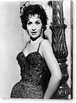 Gina Lollobrigida, Ca. 1956 Canvas Print by Everett