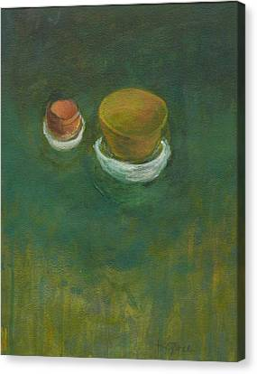 Canvas Print featuring the painting Ginger Pot by Kathleen Grace