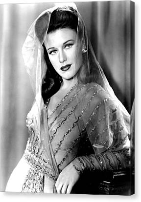 Ginger Rogers, In A Paramount Studios Canvas Print by Everett