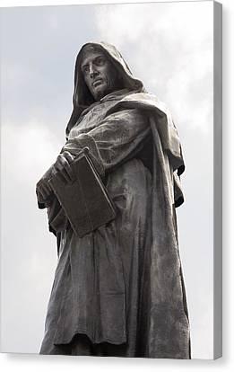 Giordano Bruno, Italian Philosopher Canvas Print by Sheila Terry