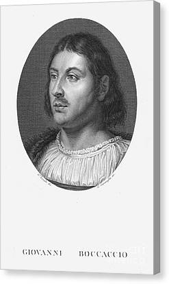 Giovanni Boccaccio Canvas Print by Granger