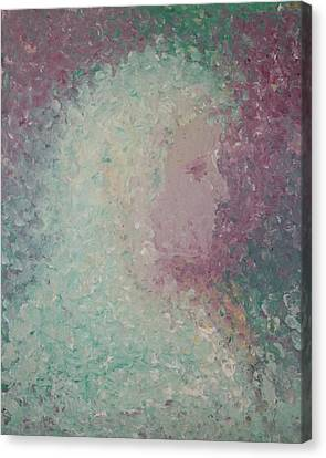 Canvas Print featuring the painting Girl by Angela Stout