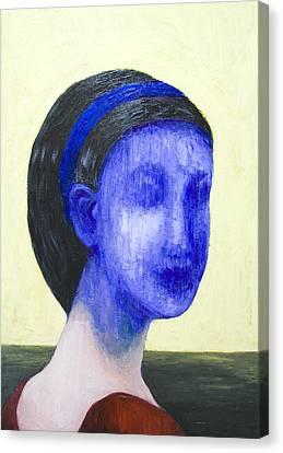 Girl With No Face Canvas Print by Kazuya Akimoto