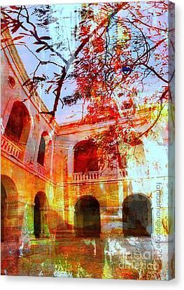 Give Me Room To Breathe Canvas Print by Fania Simon