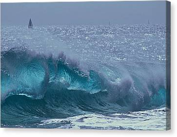 Glacial Blue Canvas Print
