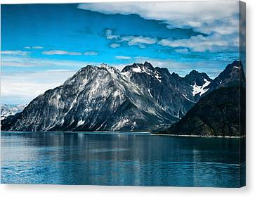Glacier Bay Alaska Canvas Print by Jon Berghoff