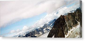 Glacier Flight Canvas Print