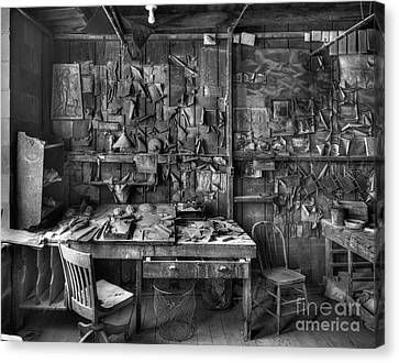 Gladding Mcbean Engineer's Room Canvas Print by Ron Schwager