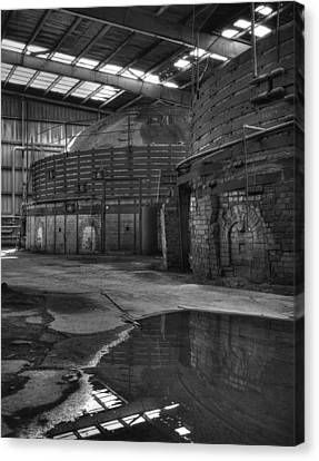 Gladding Mcbean Kilns Canvas Print by Ron Schwager