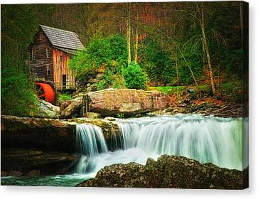 Glade Creek Mill 2 Canvas Print by Mary Timman