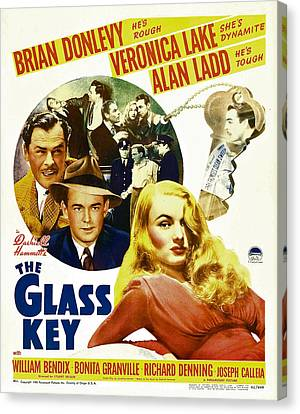Glass Key, The, Brian Donlevy, Alan Canvas Print by Everett