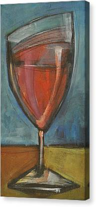 Glass Of Red Canvas Print by Tim Nyberg