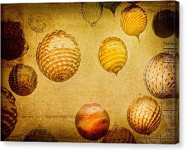 Glass Ornaments Canvas Print by James Bethanis