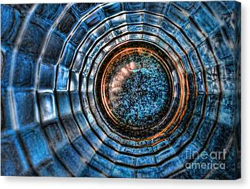 Glass Series 3 - The Time Tunnel Canvas Print