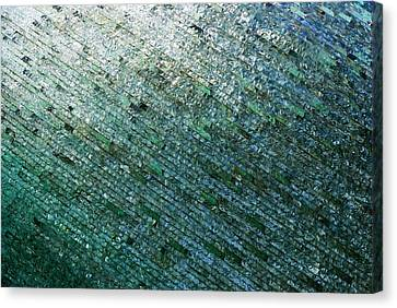 Glass Strata Canvas Print by Charlie and Norma Brock