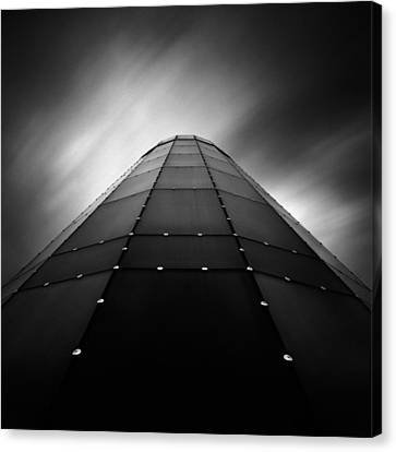 Glass Tower Canvas Print by Dave Bowman