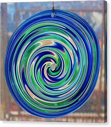 Glass Twirl Canvas Print