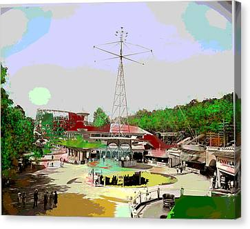Glen Echo Park Canvas Print by Charles Shoup