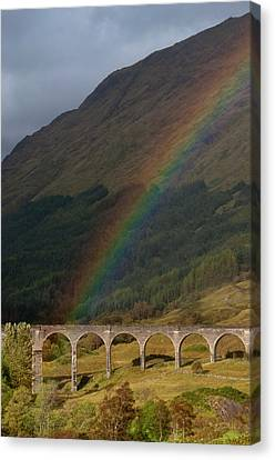 Glenfinnan Viaduct Canvas Print by © Alexander W Helin