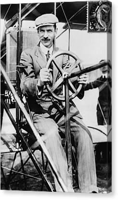 Glenn H. Curtiss 1878-1930, Aviation Canvas Print by Everett