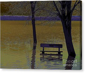 Global Warming Canvas Print by Silvie Kendall