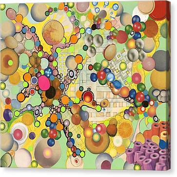 Canvas Print featuring the mixed media Globious Maximous by Douglas Fromm
