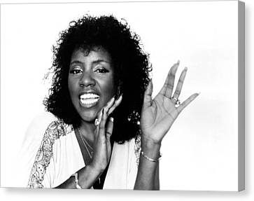 Gloria Gaynor, Circa 1980 Canvas Print by Everett